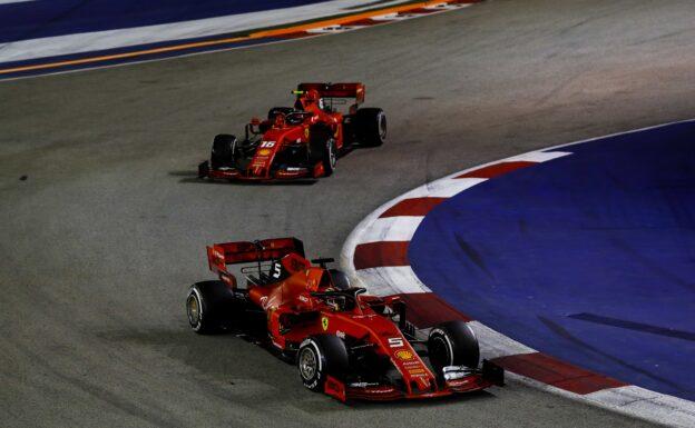 Rosberg's view on Ferrari's 1-2 in Singapore