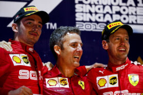 2019 Singapore F1 GP Animated Timelapse
