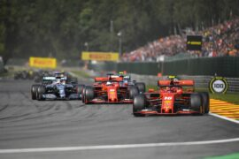 Animated Timelapse 2019 Belgian F1 GP