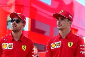 Vettel not saying if Leclerc best ever teammate