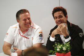 Wolff slams Zak Brown over next season's Mercedes prediction