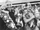 Alberto Ascari with thropy