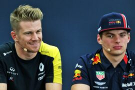Jos Verstappen wants Hulkenberg to be son's teammate