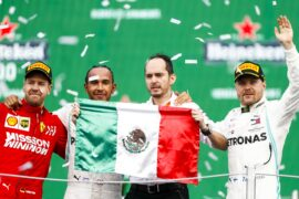 2019 Mexican Grand Prix Race Results