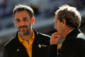 Prost admits Renault also considered Bottas & Vettel