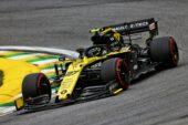 Nico Hulkenberg (GER) Renault F1 Team RS19. Brazilian Grand Prix, Friday 15th November 2019. Sao Paulo, Brazil.