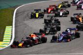 2019 Brazilian F1 GP Animated Timelapse