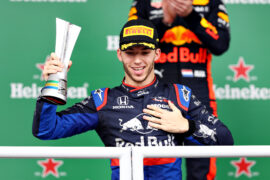 Gasly thinks 2020 seat 'completely deserved'