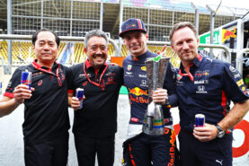 Horner wants Red Bull and Honda to stick together