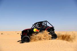 Verstappen & Albon duel in the desert