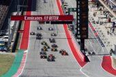 2019 US F1 GP Animated Timelapse