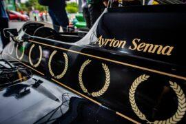 2019 São Paulo Senna Tribute with Caio Collet