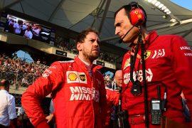 Vettel no longer Ferrari number 1