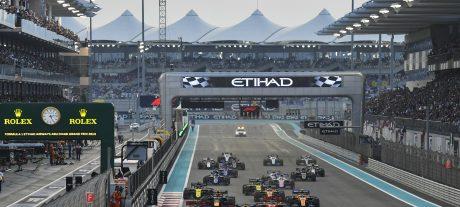2019 Abu Dhabi F1 GP Animated Timelapse