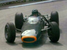 1964 British GP with Jim Clark's Lotus 25 onboard