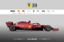 Ferrari SF1000 - Side view
