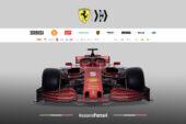 Ferrari SF1000 - front view