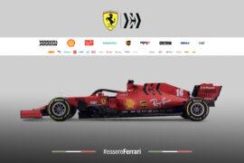 Ferrari SF1000 - leftside view