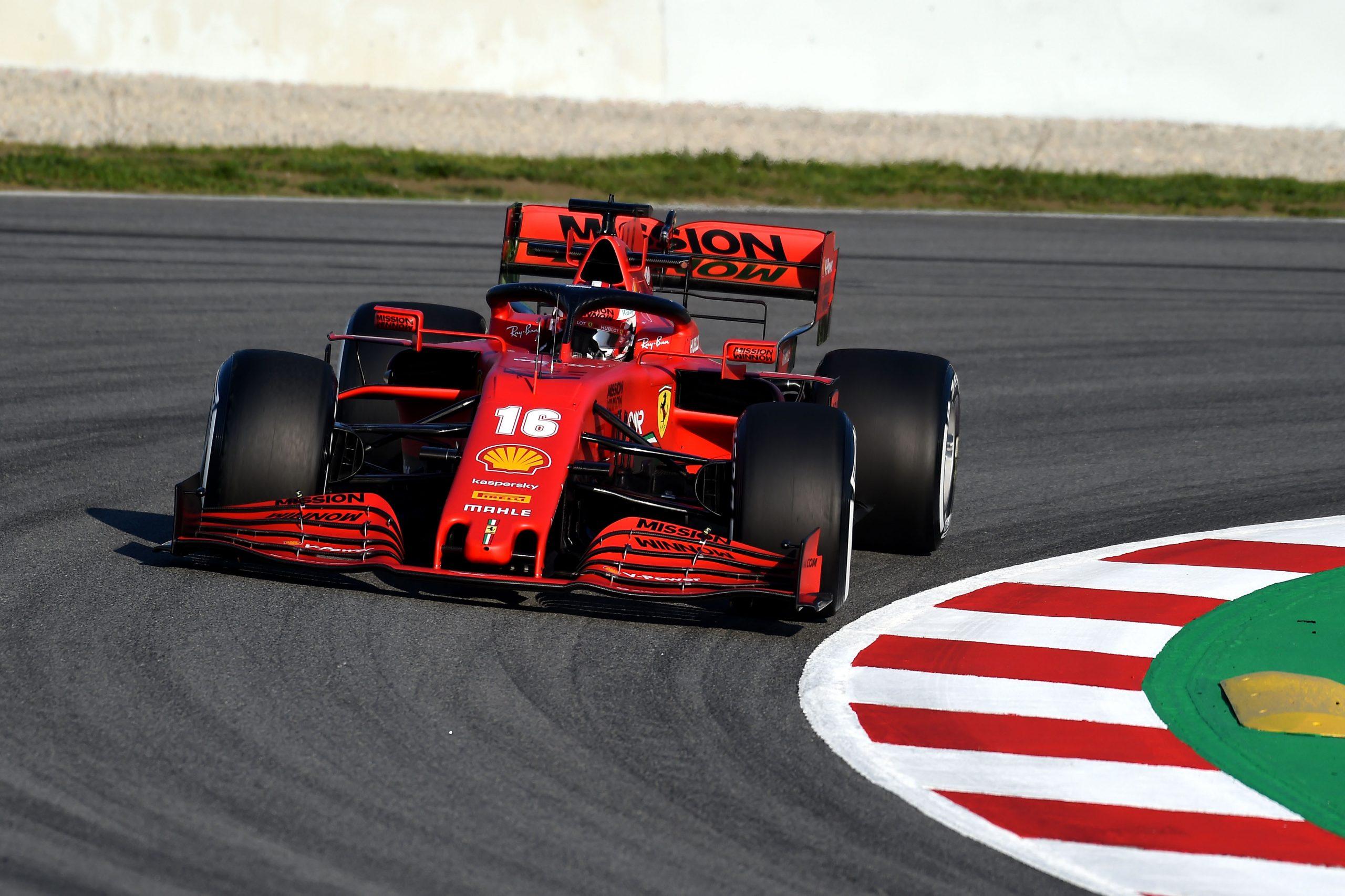 Leclerc Vitoria Em Melbourne Parece Dificil Para A Ferrari