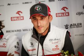 Kubica admits 'people think I'm not fast'
