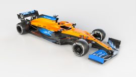 2020 McLaren MCL35 F1 Car launch pictures