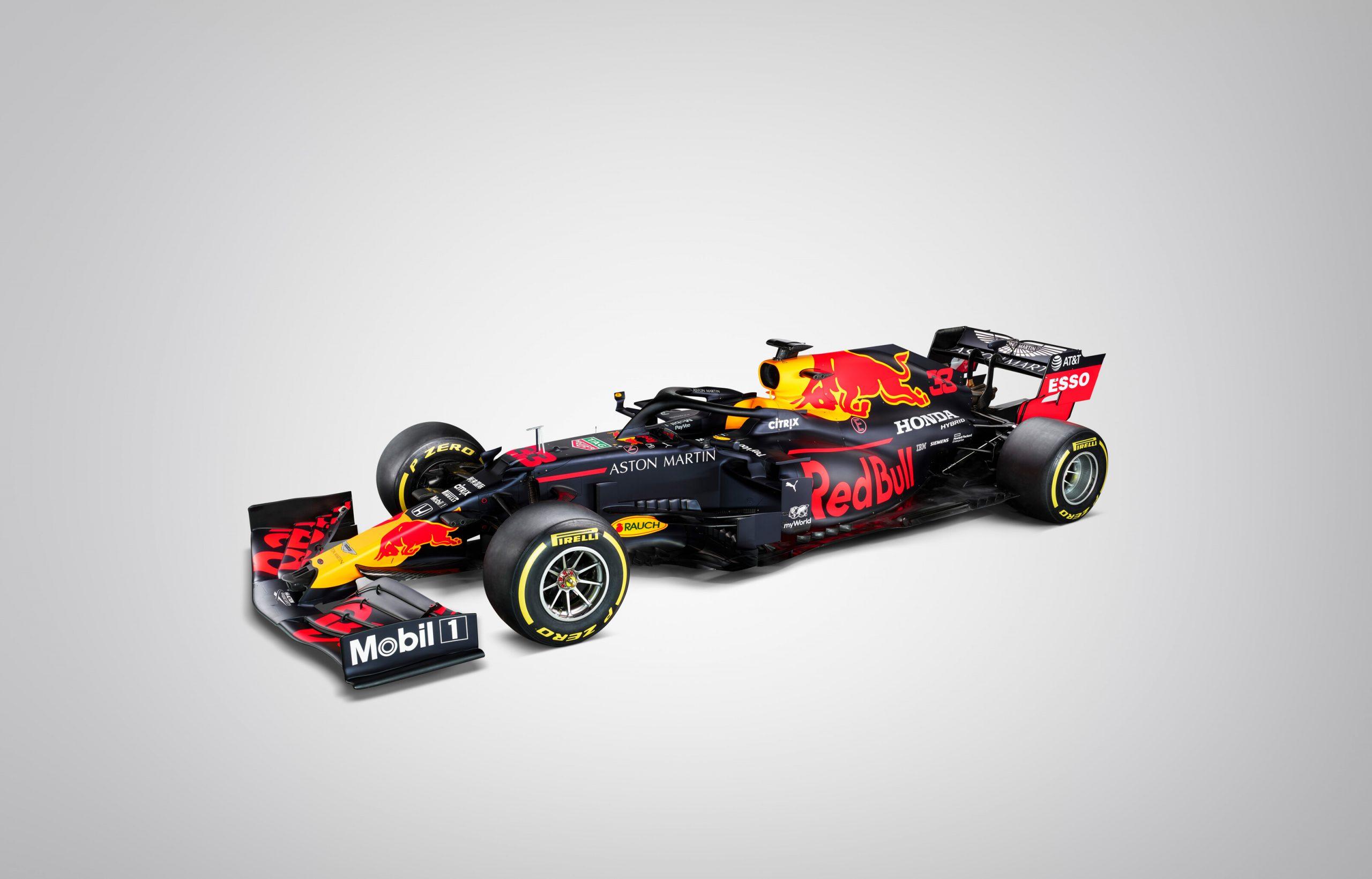 2020 Red Bull Rb16 F1車の打ち上げ写真 F1 Fansite Com