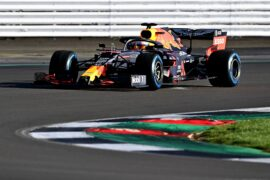 First footage of the Red Bull RB16