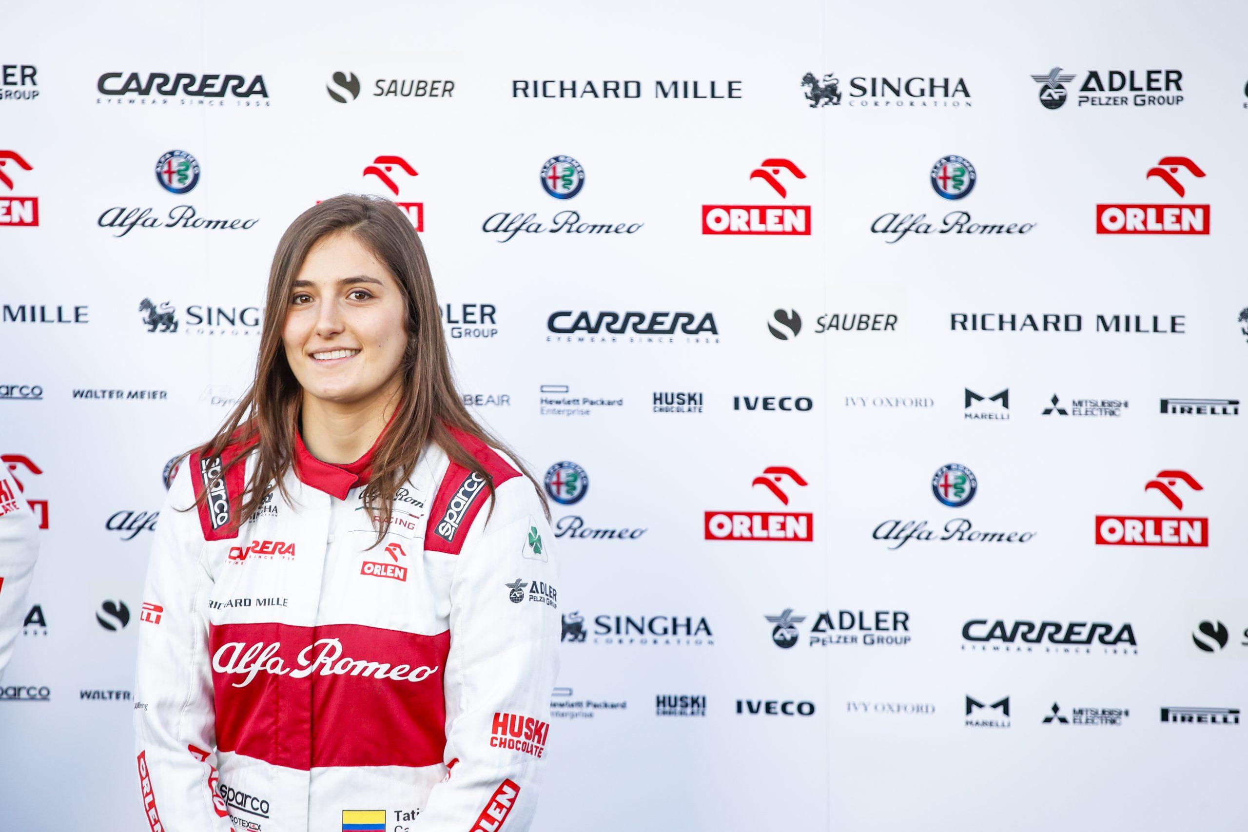 original Tatiana Calderon  Neu Formel 1