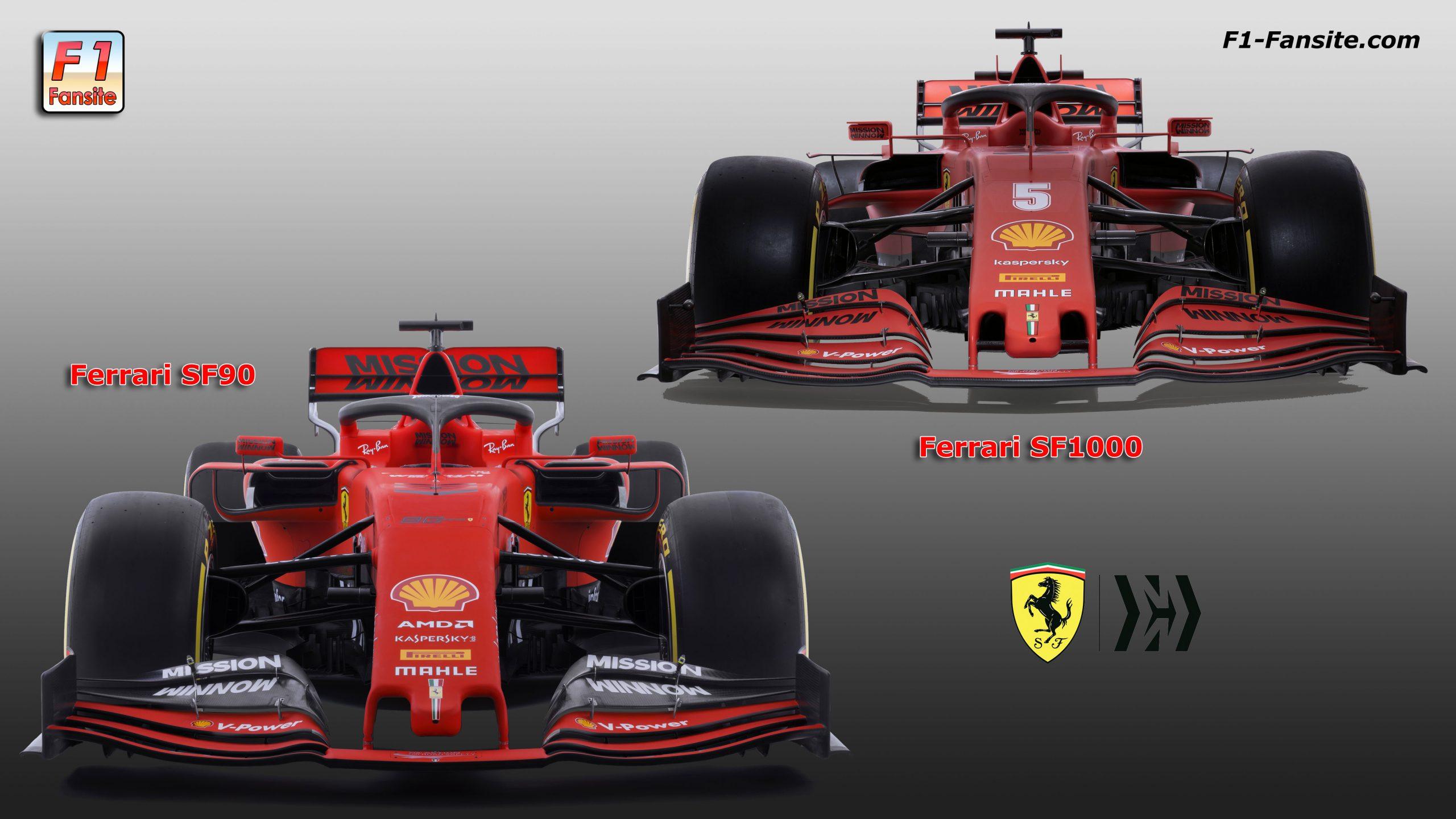 2020 Ferrari Sf1000 F1 Car Launch Pictures