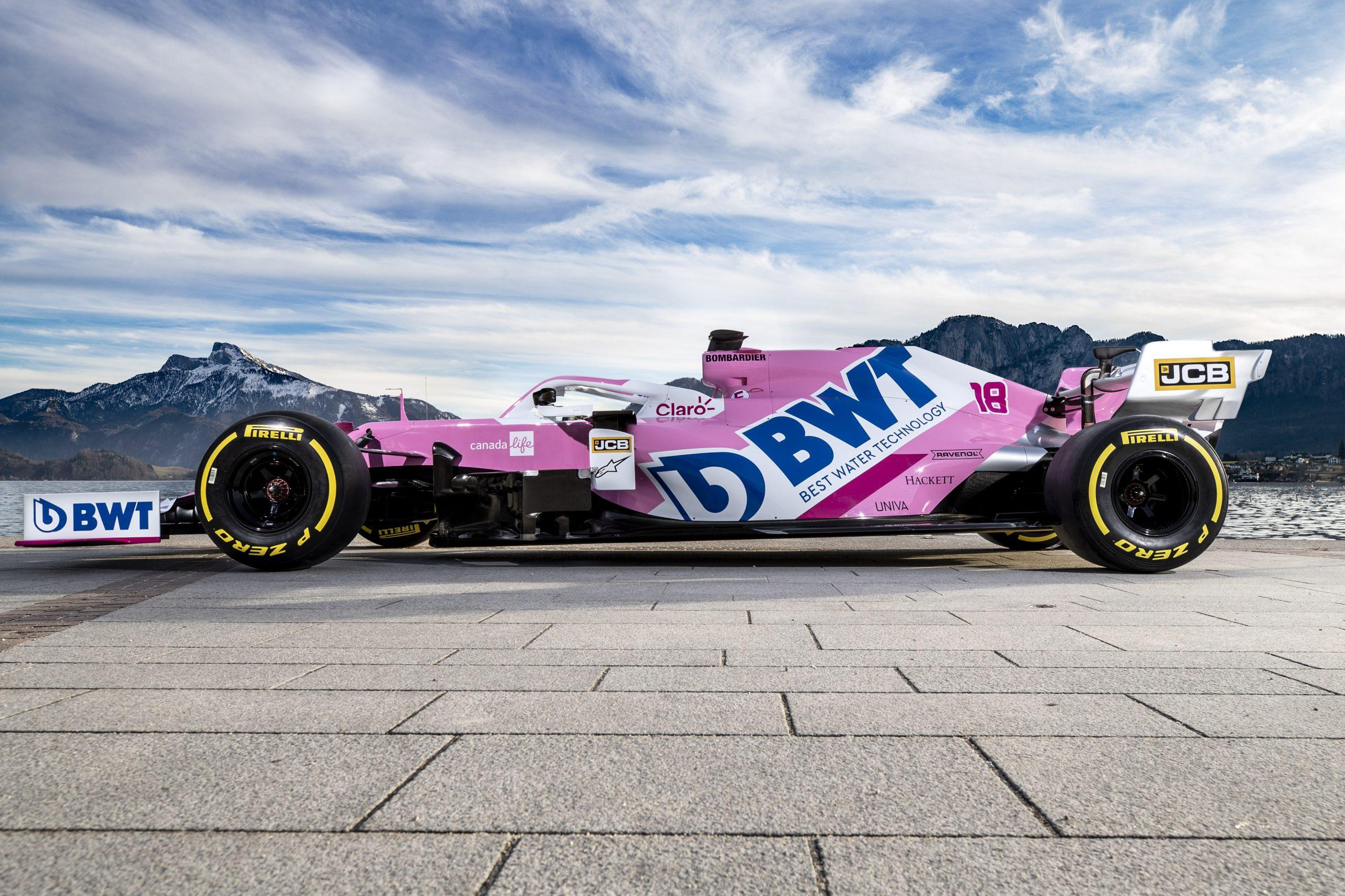 2020 Racing Point RP20 F1 Car launch photos
