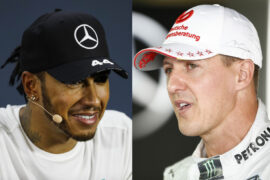 Hamilton's Mercedes better than Schumacher's Ferrari?