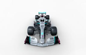 Before Lights Out - Mercedes W11 Light Show
