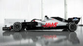 Haas VF-20 left side view
