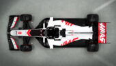Haas VF-20 top view