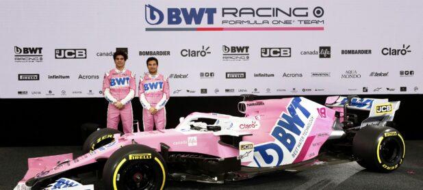 Racing Point Kann Für 2021 Eine Rosafarbene Lackierung Abgeben