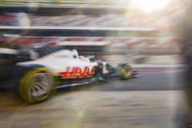 Haas not worried about slow test times