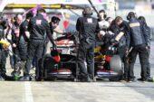 Haas Behind the scenes at Pre-Season Testing