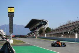 Carlos Sainz reviews a lap around Circuit de Barcelona-Catalunya