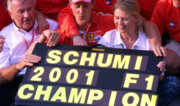 Schumacher's first manager thinks he is 'deleted' by Schumi's wife