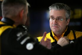 Alpine develops half new F1 car for this season