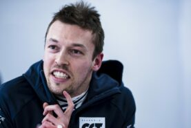 Kvyat says he's too stubborn not to try to return in F1