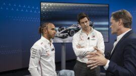 Wolff already talking about driver lineup for next season?