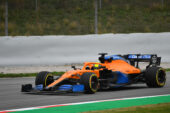 Lando Norris, McLaren MCL35 at Catalunyya F1/2020