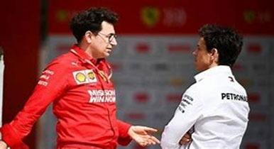 Binotto admits Ferrari vetoed Wolff as F1 CEO