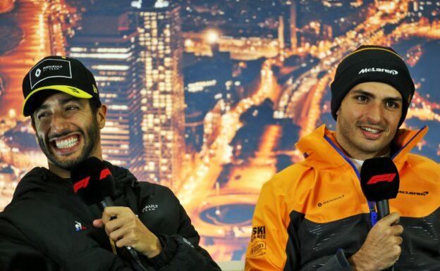 Sianz to Ferrari and Ricciardo to McLaren