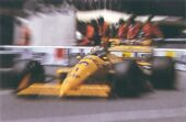 Lotus 100T driven by Nelson Piquet at Monaco (1988)