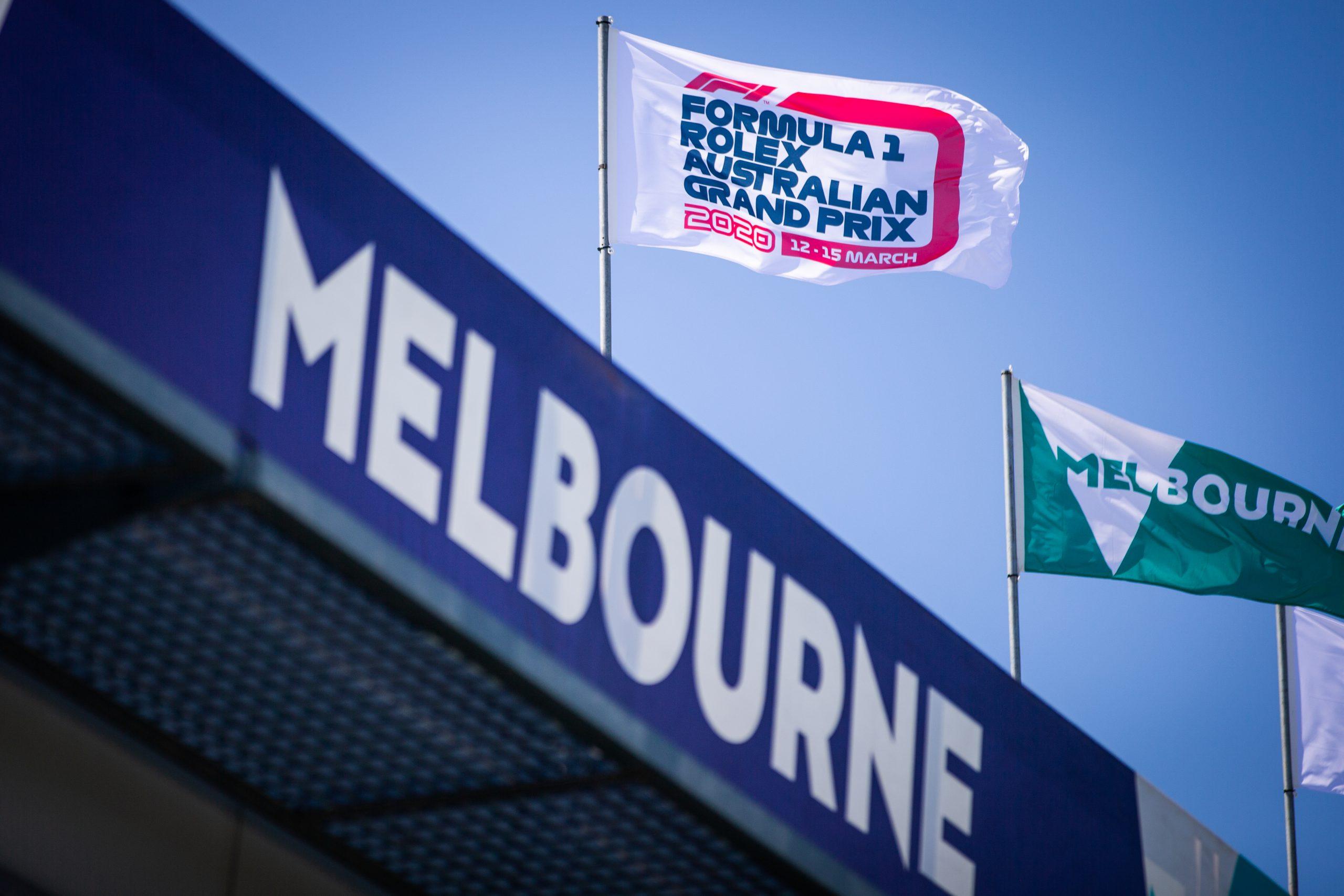 Startaufstellung Melbourne 2021