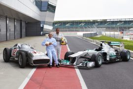 Sir Stirling Moss passed away at the age of 90