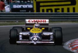Nelson Piquet, Williams Honda FW11, Monaco GP (1986)