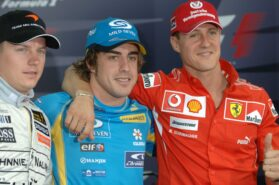 Alonso says Schumacher 'one step ahead' of Hamilton